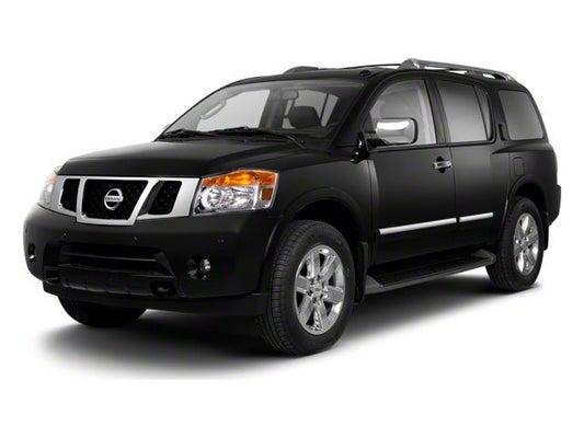 Nissan Armada Mpg >> 2013 Nissan Armada Platinum